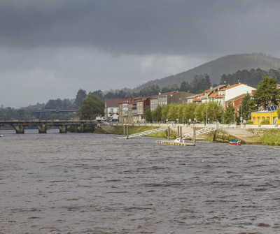 Camino Portugués en su paso por Pontecesures