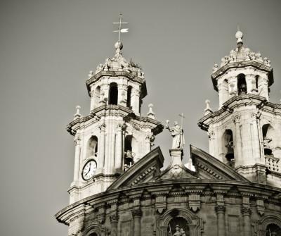 Iglesia de La Peregrina en Pontevedra, Camino Portugués
