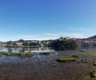 Panorámica de Pontesampaio, Camino Portugués