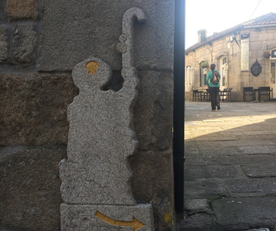 Salida de Tui, primera etapa del Camino Portugués