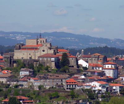 Vistas de Tui, inicio del Camino Portugués