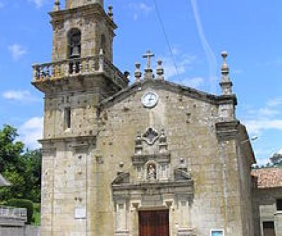 Iglesia de Santa María en Nigrán, Camino Portugués por la Costa