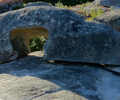 Yacimiento A Cabecia, en el Camino Portugués por la Costa