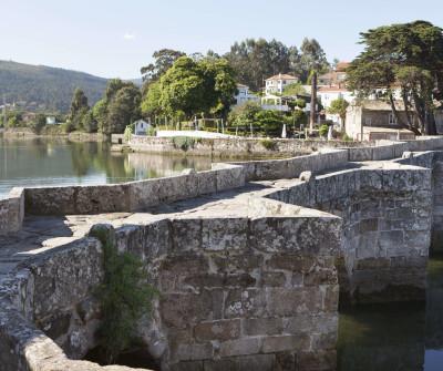 Puente de A Ramallosa, Camino Portugués por la Costa