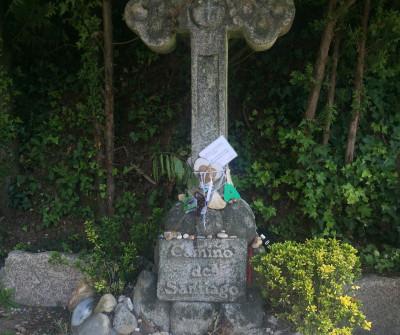 Cruz en Mos, punto de paso del Camino Portugués