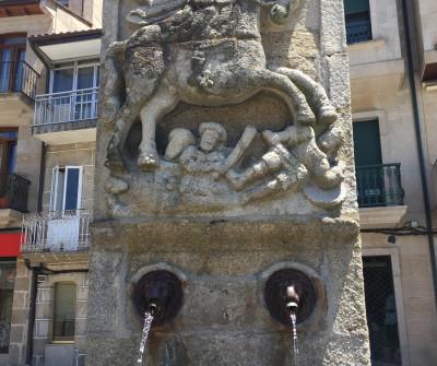 Fuente de Santiago Apóstol en Redondela, Camino Portugués