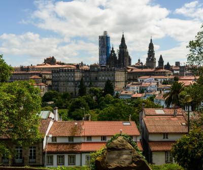 Santiago de Compostela, fin del Camino Portugués