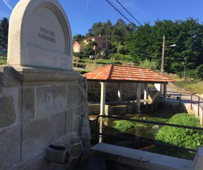 Lavadero en Arcade, tercera etapa del Camino Portugués