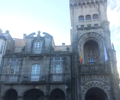 Ayuntamiento de O Porriño, primera etapa del Camino Portugués