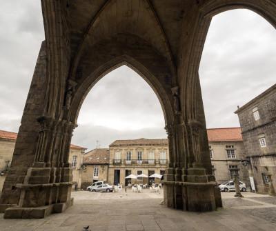 El pueblo de Tui, primera etapa del Camino Portugués