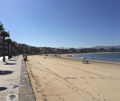 Playa Panxón, Camino Portugués por la Costa