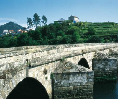 Puente en Redondela, Camino Portugués