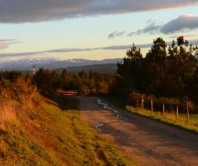 Amanecer en el Camino Primitivo