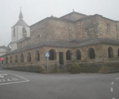Grandas de Salime, pueblo asturiano por el que pasa el Camino Primitivo