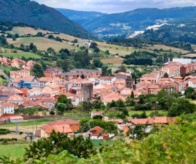 Salas, pueblo del Camino Primitivo