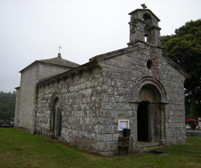 Iglesia de San Romao de Retorta, en el Camino Primitivo
