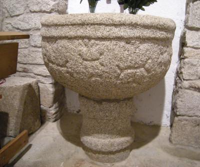 Interior de la iglesia de San Romao de Retorta