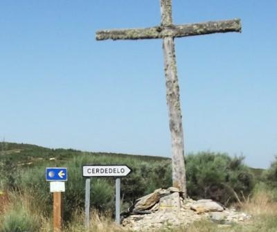 Camino Sanabrés a su paso por Campobecerros