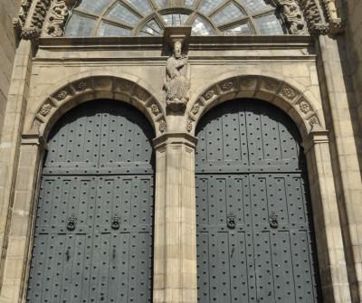 Detalle de la Catedral de Ourense