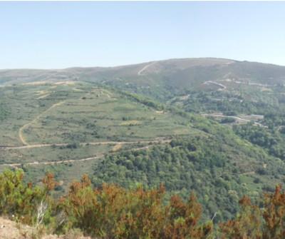 Camino Sanabrés entre A Gudiña y  Laza