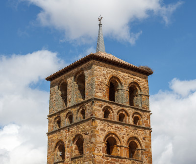 Iglesia de Tábara, Camino Sanabrés