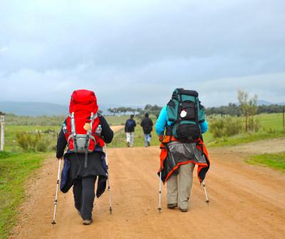 Peregrinos por el Camino Sanabrés