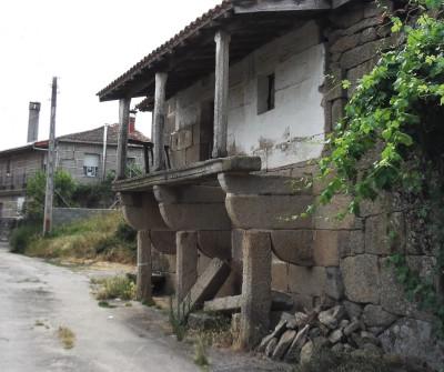Camino Sanabrés a su paso por Vilar de Barrio