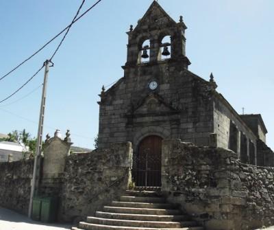 Iglesia de Vilavella en el Camino Sanabrés