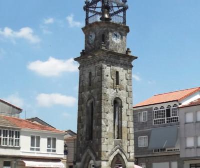 Torre do reloxo de Cea, en el Camino Sanabrés