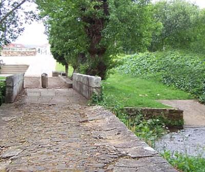 Camino Sanabrés entre Outeiro y Santiago