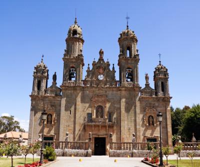 Santuario de los Milagros en Ourense