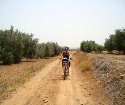 Vía de la Plata en bici