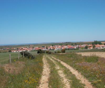 Pueblo en la Vía de la Plata