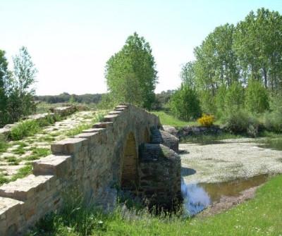 Vía de la Plata camino a Astorga