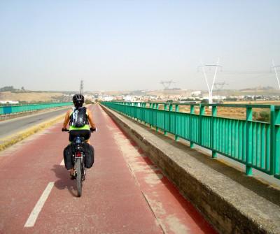Salida de Sevilla al Camino Vía de la Plata