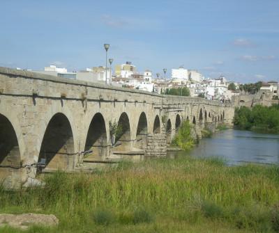 Puente romano en Mérica