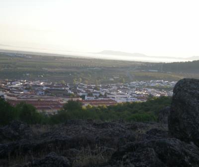 Vista de Los Santos de Maimona