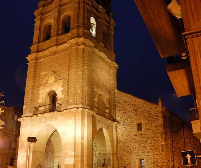 Iglesia en la Vía de la Plata