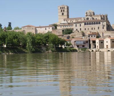 Vistas del río en Zamora