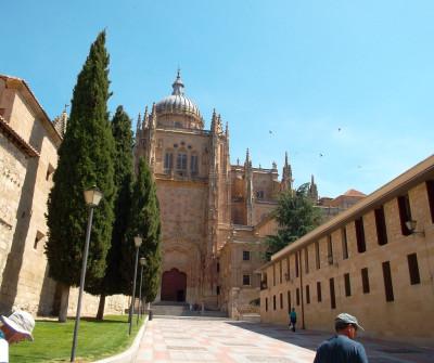 Entrada a la Catedral de Salamanca