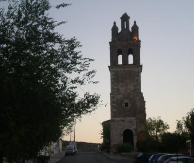 Salida de Zafra, Vía de la Plata