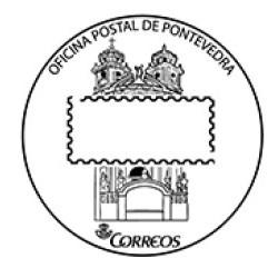 Matasellos oficina postal Pontevedra