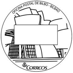 Matasellos turístico Bilbao