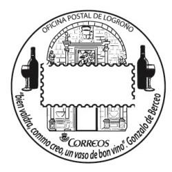 Matasellos turístico Logroño