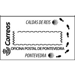 Matasellos turístico Pontevedra