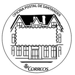 Matasellos turístico Santander