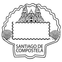 Matasellos turístico Santiago