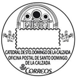 Matasellos turístico Santo Domingo de la Calzada