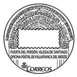 Matasellos turístico Villafranca del Bierzo