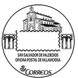Matasellos turístico Villaviciosa